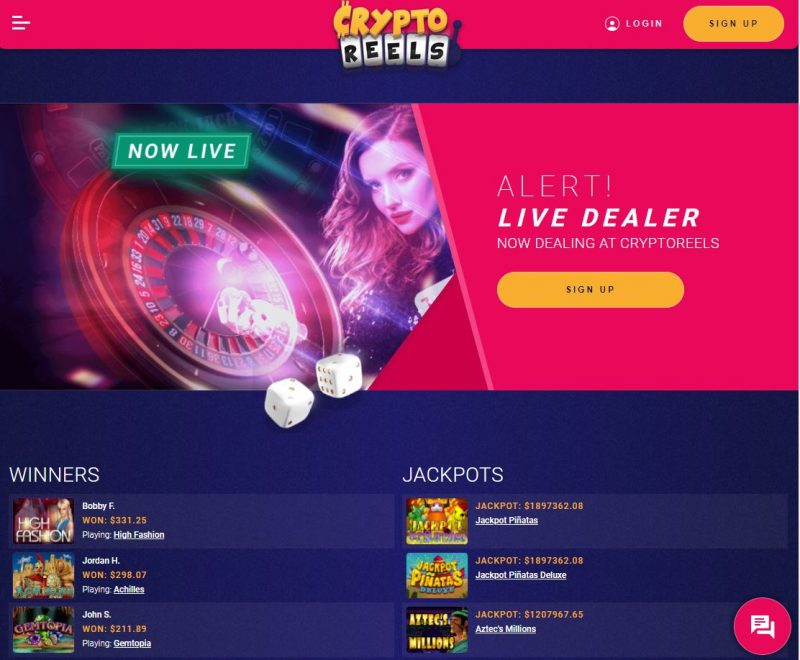 crypto reels casino roulette