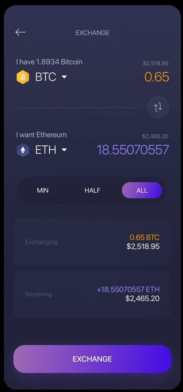 exodus mobile wallet app für kryptowährung