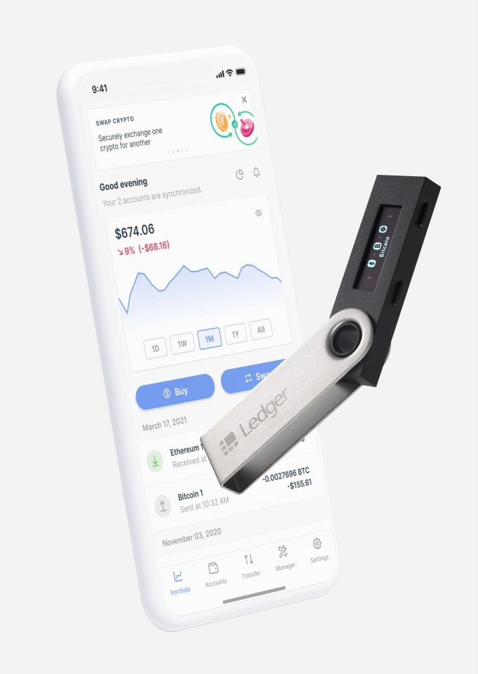 ledger nano s geldbörse produkt