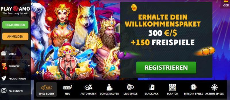 playamo casino bonus offer