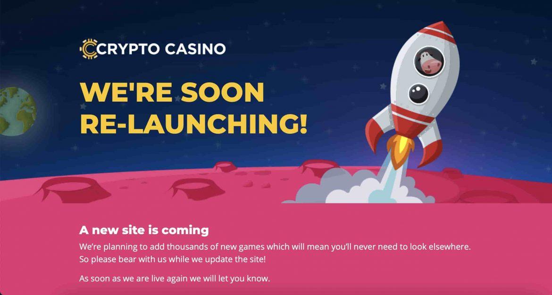 CryptoCasino Announces Temporary Close