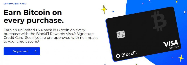 blockfi visa credit card crypto