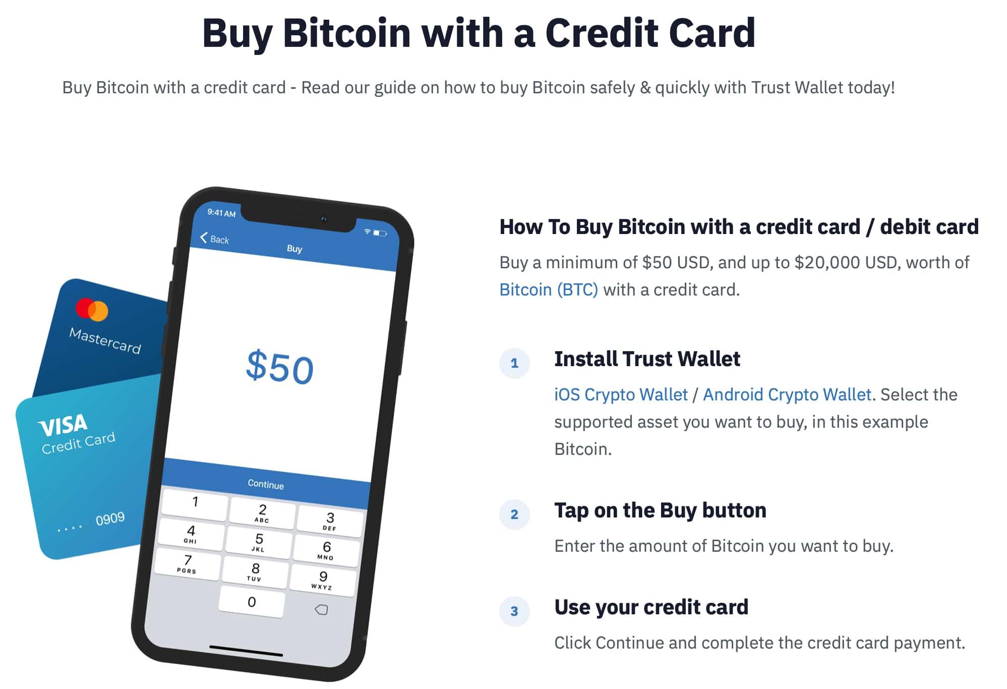 Trust Wallet Buy Bitcoin