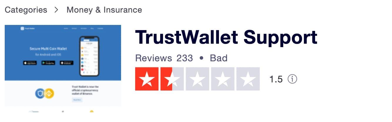 Trust Wallet Reviews