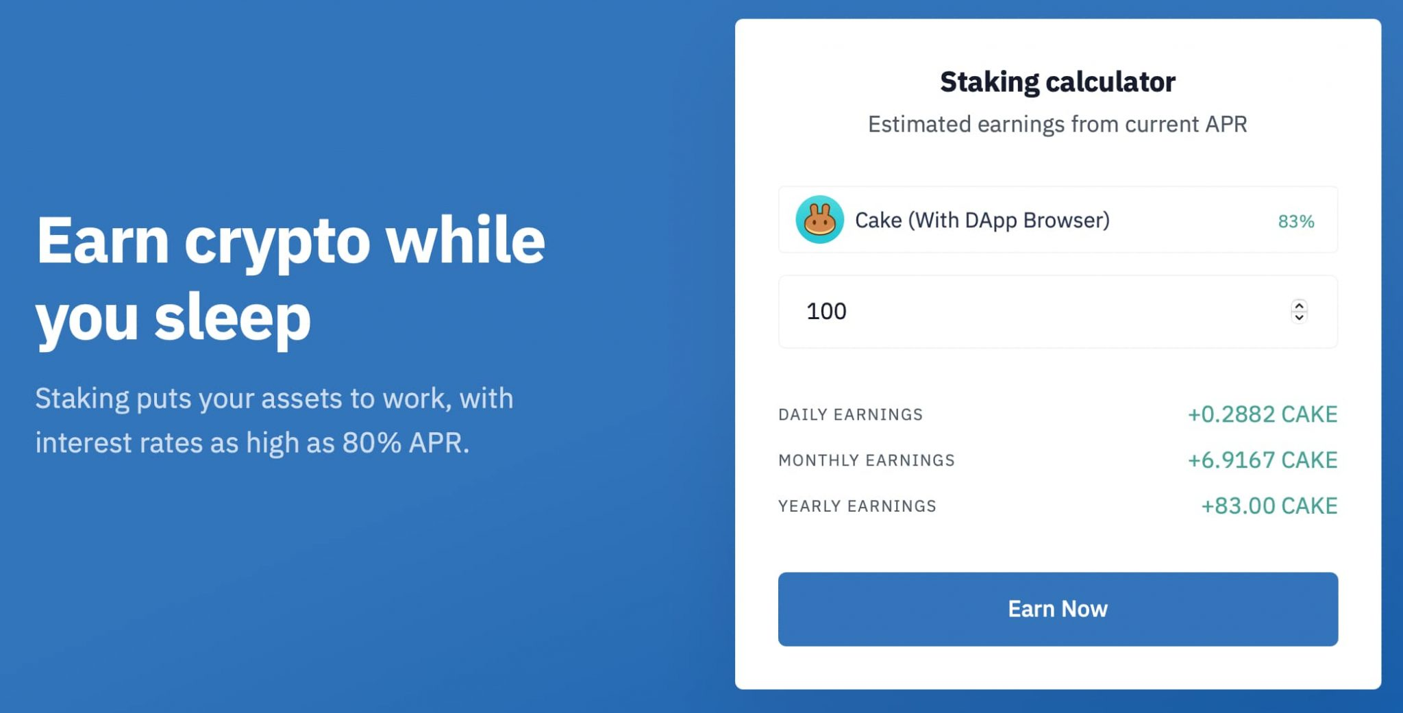 Trust Wallet Staking
